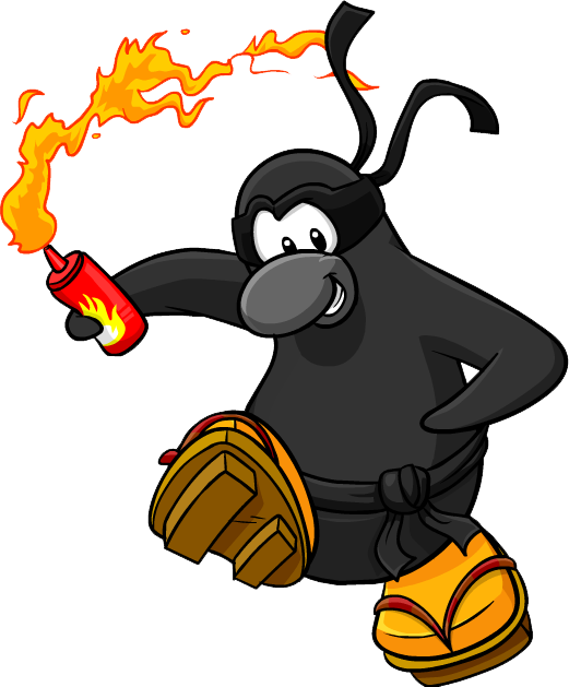 Image result for wild ninjas club penguin