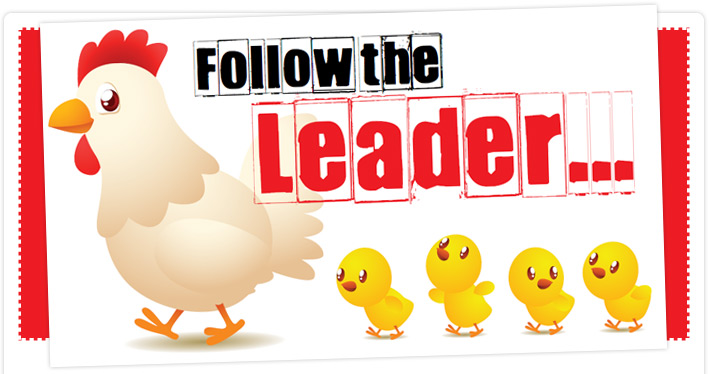 a leader for all to follow 3 to accept the guidance, command, or leadership of: follow a spiritual master rebels who refused to follow their leader.