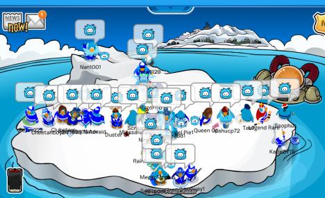 First Ice Warriors event under Kingfunks4.