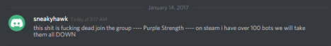 SneakyHawk comments on the current state of Purple Republic.